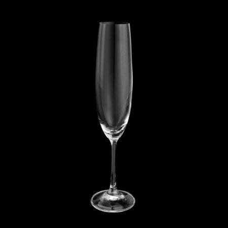 Conj. 6 Taças P/ Champgne De Cristal Ecologico - 250ml