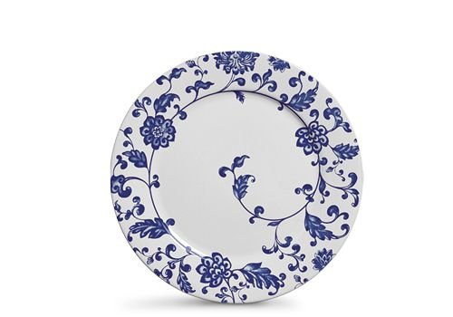 Conjunto de Pratos Rasos com 06 Peças em Cerâmica La Chinoise