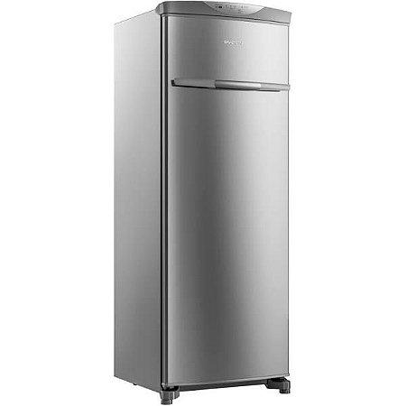 Refrigerador/Freezer Vertical Brastemp Flex de 228 Litros Frost Free Inox- BVR28MK - 110V