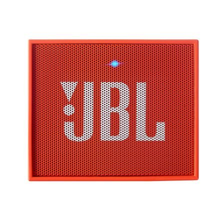 Caixa de Som Bluetooth JBL Go Laranja Bateria Recarregável Viva-Voz