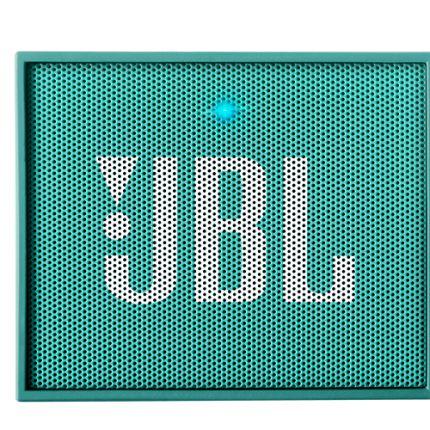 Caixa de Som Bluetooth JBL Go Verde água Bateria Recarregável Viva-Voz