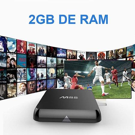 Tv Box Ott M8s Android Kitkat 4k Xmbc Hevc Netflix 2gb Ram