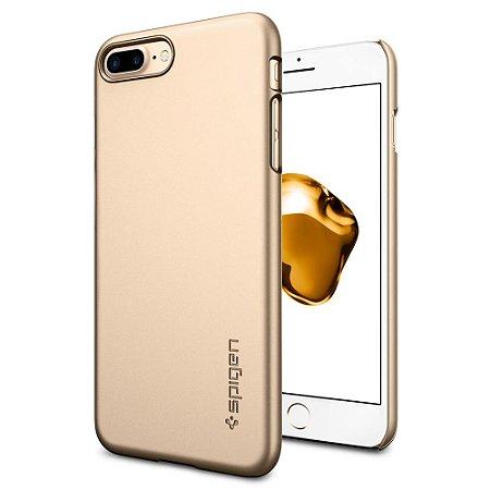 CAPA PARA IPHONE 7/8 PLUS THIN FIT CHAMPAGNE GOLD SPIGEN