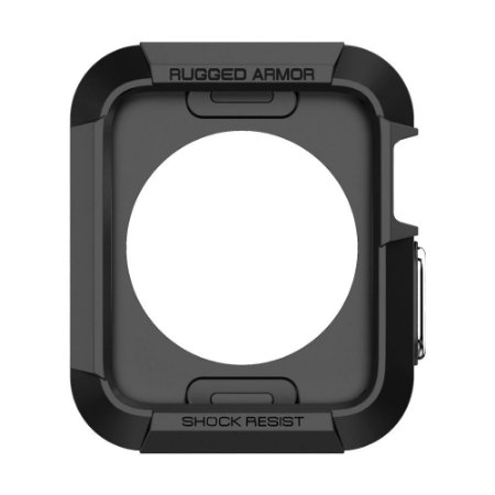 CASE SPIGEN RUGGER ARMOR PARA APPLE WATCH 42mm SERIES 1/2/3