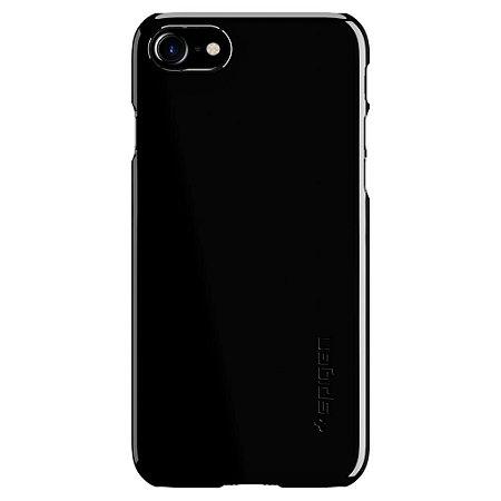 CAPA PARA IPHONE 7/8 SPIGEN THIN FIT JET BLACK