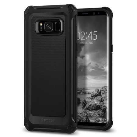 CAPA PARA GALAXY S8 RUGGED ARMOR EXTRA SPIGEN BLACK