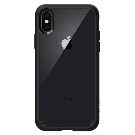 CAPA PARA IPHONE X ULTRA HYBRID SPIGEN MATTE BLACK