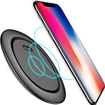 CARREGADOR SEM FIO BASEUS - WIRELESS UFO - INDUÇÃO - IPHONE 8 E X