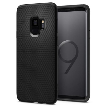 CAPA PARA GALAXY S9 LIQUID AIR MATTE BLACK SPIGEN