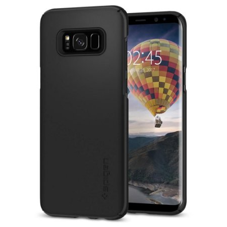 CAPA PARA GALAXY S8 THIN FIT SPIGEN BLACK
