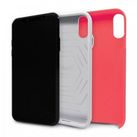 CAPA PARA IPHONE X STRONG DUALL IWILL CORAL