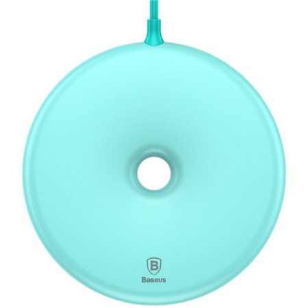 CARREGADOR WIRELESS BASEUS DONUT AZUL