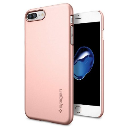 CAPA PARA IPHONE 7/8 PLUS THIN FIT ROSE GOLD SPIGEN