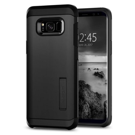 CAPA PARA GALAXY S8 TOUGH ARMOR SPIGEN BLACK