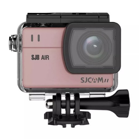 Câmera Filmadora Sjcam Sj8 Air Wifi Full Hd 1296p 14mp Rose