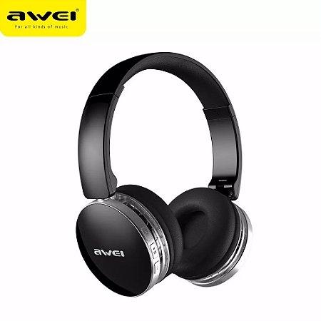Fone De Ouvido Dobravel Bluetooth Extra Bass Awei A500bl