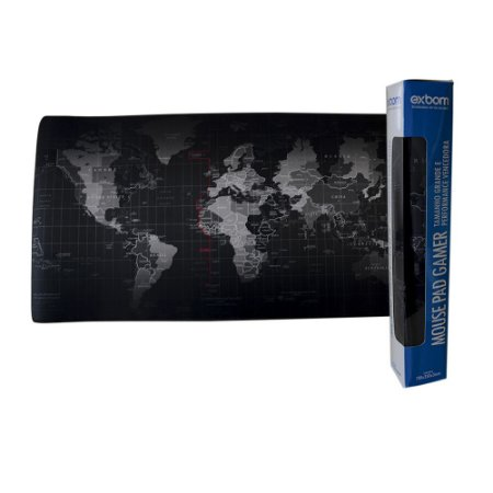 Mouse Pad Gamer MAPA Extra Grande 70x35 Cm Mouse Teclado Pc