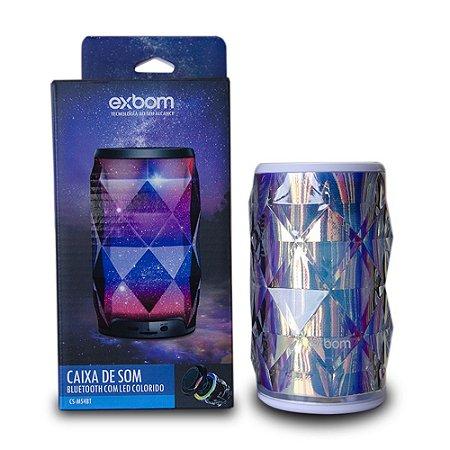 Caixa De Som Bluetooth Caixinha Portátil C/ LED Colorido
