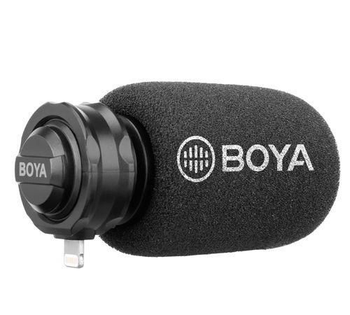 Microfone Estéreo  Digital Boya By-dm200