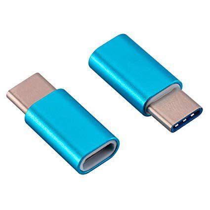 Adaptador Usb Tipo C Para Micro Usb P/Mi A1 S8 S9 Zenfone Azul