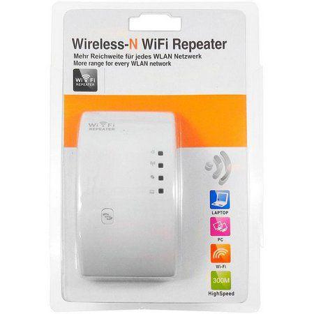 Repetidor Expansor De Sinal Wifi Roteador T25 Botão Wps