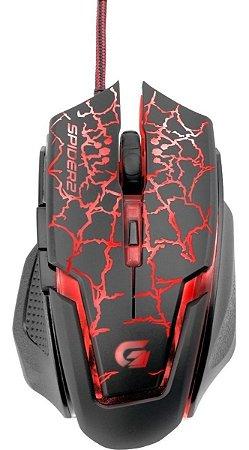 Mouse Gamer Spider 2 Fortrek OM705 Vermelho