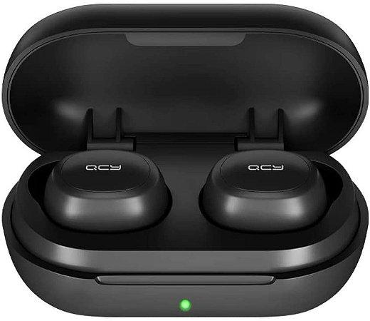 Fone Qcy T4 Bluetooth 5.0 Tws, Modo Game, Hifi Stereo Aac 6mm, Customização via App