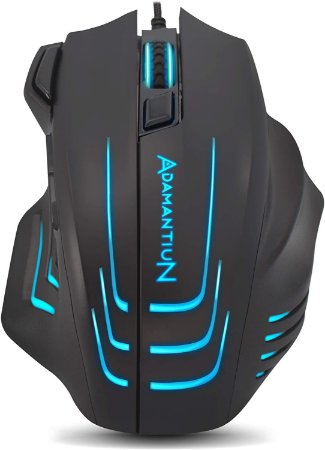 Mouse Gamer PC RGB Adamantiun Dagon ADX-300