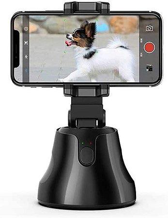 Honorall Selfie portátil Auto Tracking Holder 360 graus Auto Face & Object Tracking Câmera de tiro inteligente