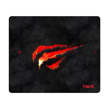Mousepad Gamer Havit, Black-Red, HV-MP837 - Preto