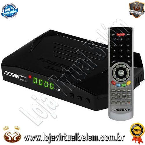 Freesky-Max M Full HD com Wi-Fi USB HDMI Iks-SKS Iptv