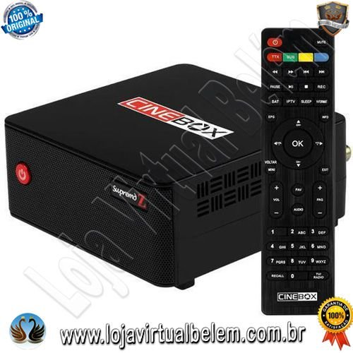 Cinebox Supremo Z acm 4K / Iks / SKS / Iptv / Vod / Wifi Interno