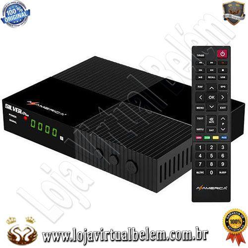 Az-America Silver + Plus Ultra HD/ Iptv/ HDMI/ USB/ Wifi/ Lan / 2 Ant