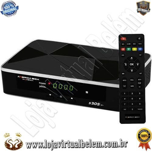 America Box S305 Plus Ultra HD 4K