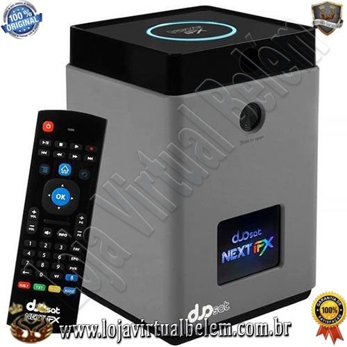 Duosat Next FX 4K Ultra HD com Bluetooth/Wi-Fi/Iptv/USB Bivolt