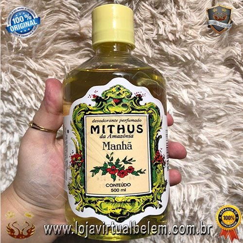 Colonia Perfumada Mithus da Amazônia 500ml