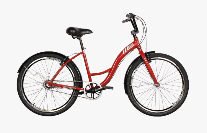Bicicleta Woie Urbana 6 Velocidades