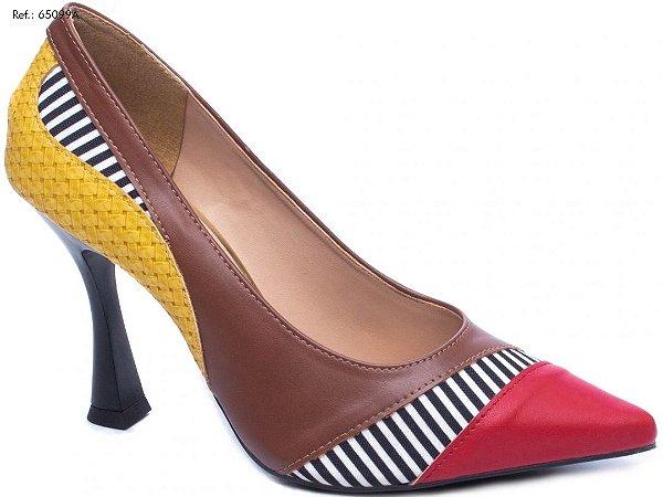 Sapato Scarpin Ref.65099A