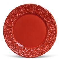 Prato Raso Medeleine Vermelho