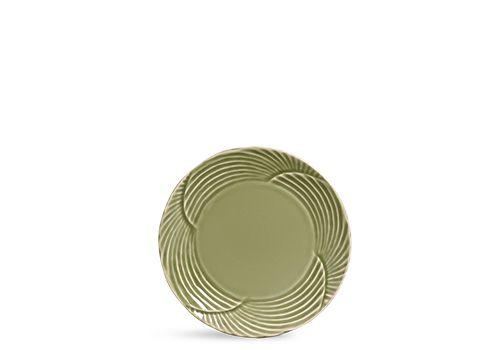 Prato Sobremesa Verde Colônia