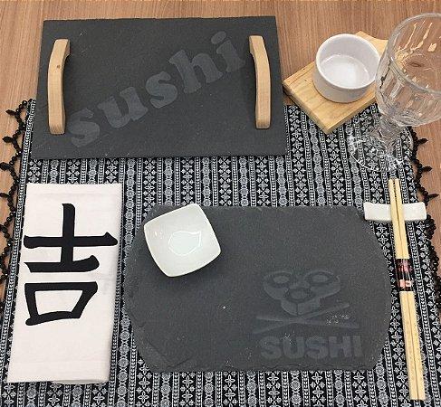 Guardanapo Escrita Japonês