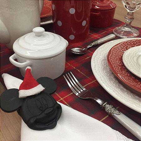 Porta Guardanapo Natal Mickey
