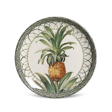 Prato de Sobremesa Coup Pineappel Green