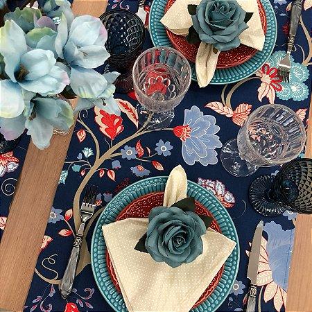 Trilho de Mesa Marinho Floral