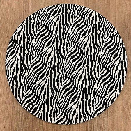 Capa Sousplat Zebra
