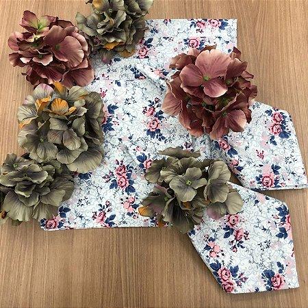 Kit 6 Lugares Floral