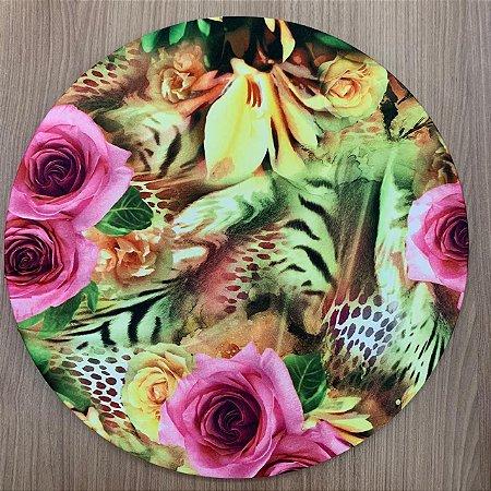 Capa para Souplat Floral Colorido