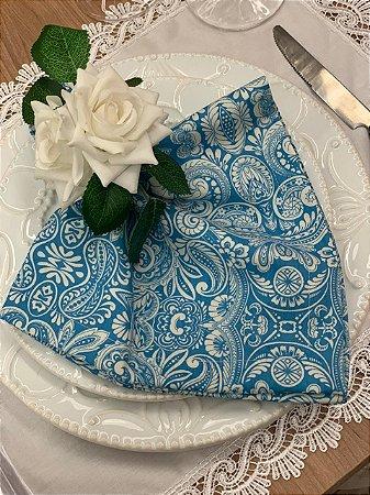 Guardanapo Estampa Azul