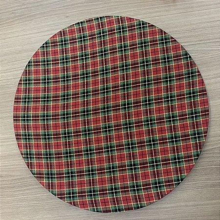 Capa para vestir Sousplat Xadrez Natal