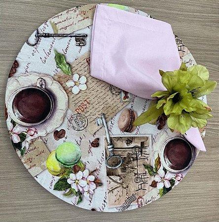 Kit 4 Lugares Chá